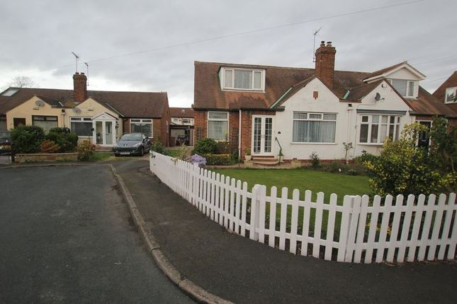 Thumbnail Semi-detached bungalow to rent in Spencer Close, Hedon, Hull