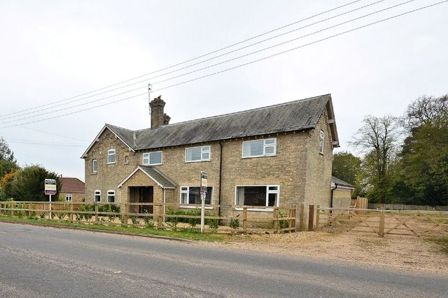 Thumbnail Detached house for sale in Crimplesham, King's Lynn