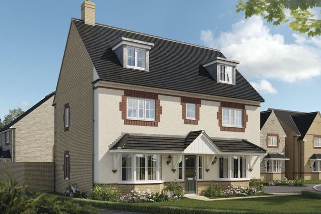 "Thumbnail Detached house for sale in ""Warwick"" at Beauchamp Avenue, Midsomer Norton, Radstock"