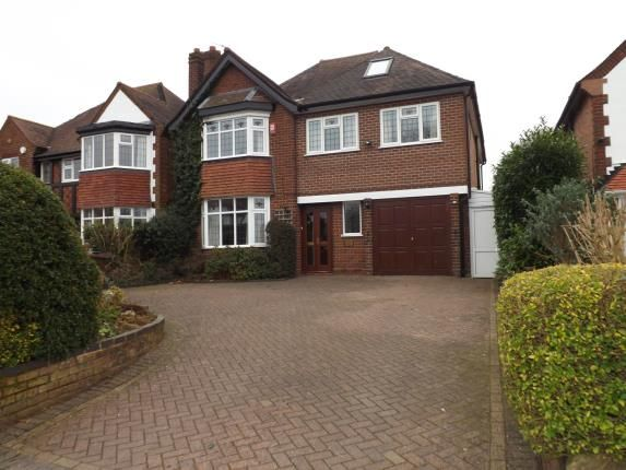 Thumbnail Detached house for sale in Manor Road, Solihull, West Midlands
