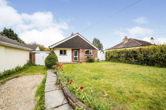 Thumbnail Detached bungalow for sale in Station Road, Whittlesford, Cambridge