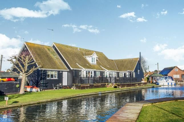 Thumbnail Detached house for sale in Marsh Road, Hoveton, Norfolk