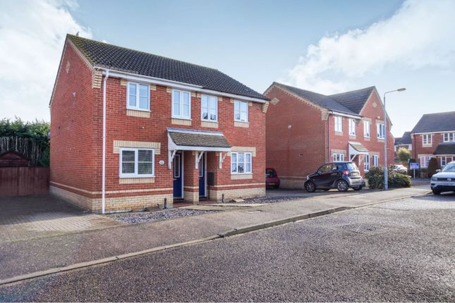 Thumbnail Semi-detached house for sale in Appletree Lane, Roydon, Diss
