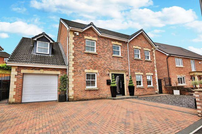 Thumbnail Detached house for sale in Clos Cribyn, Beacon Heights, Merthyr Tydfil