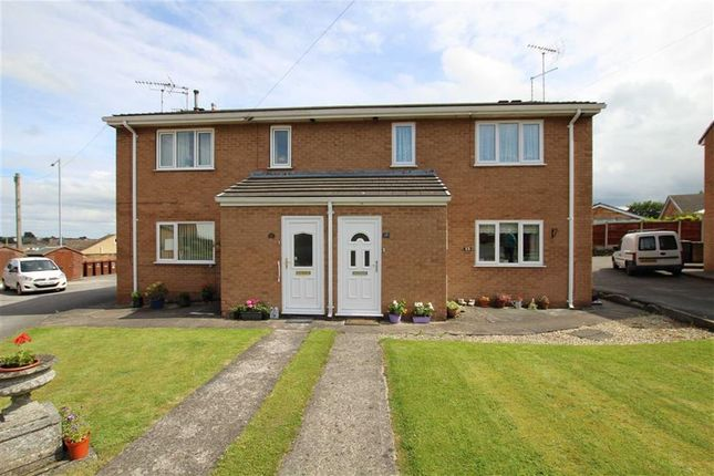 Thumbnail Flat for sale in Newthorne Place, Buckley, Flintshire