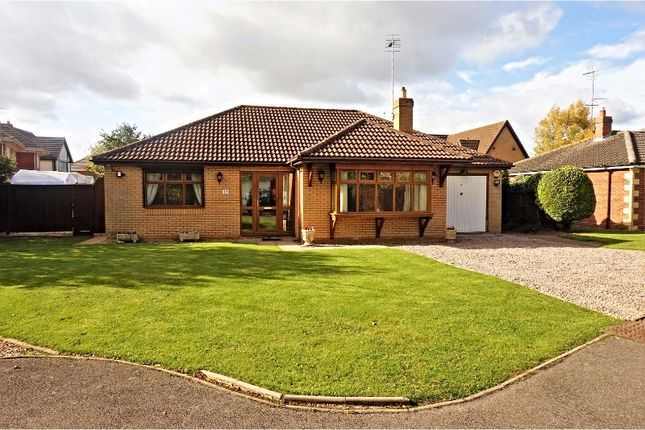 Thumbnail Detached bungalow for sale in Wygate Meadows, Spalding