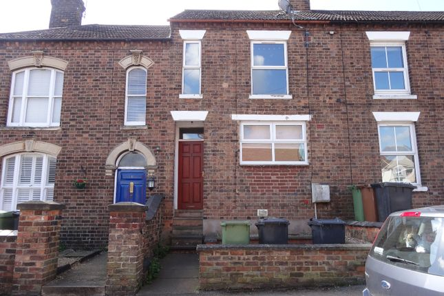 Thumbnail Terraced house to rent in Alliance Way, Wellingorough
