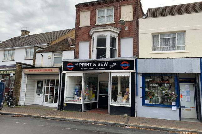 Thumbnail Retail premises to let in Stoke Road, Gosport