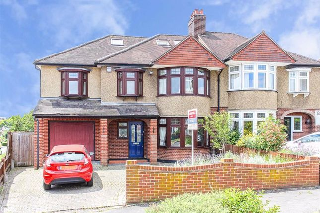 Thumbnail Semi-detached house for sale in Beresford Drive, Woodford Green, Essex