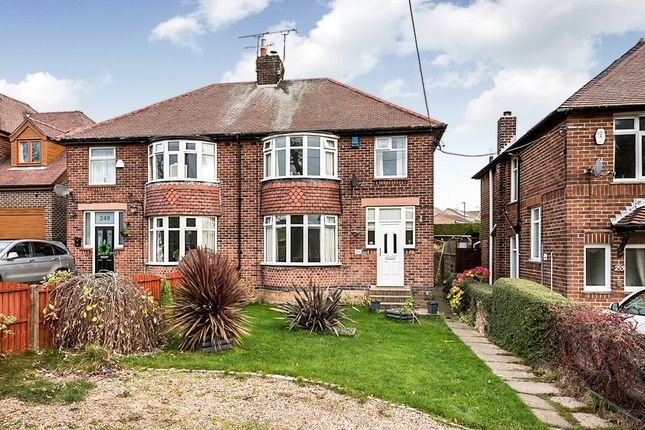 Thumbnail Semi-detached house for sale in Springwood Lane, High Green, Sheffield