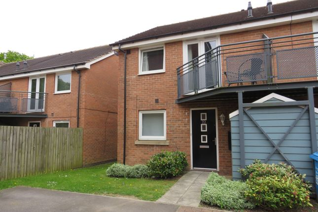 Thumbnail Town house for sale in Sandwell Park, Kingswood, Hull