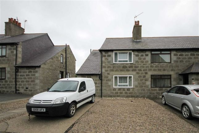 Thumbnail End terrace house for sale in Main Street, New Deer, Aberdeenshire
