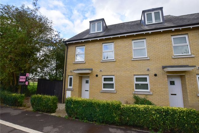 Thumbnail End terrace house to rent in Cavell Court, Bishop's Stortford