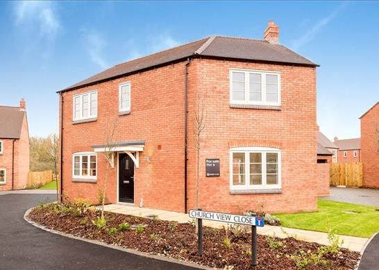 Thumbnail Detached house for sale in Church Meadows, Evesham Road, Salford Priors