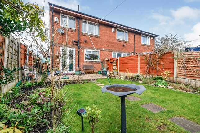 Rear Garden of Farndale Square, Worsley, Manchester, Greater Manchester M28