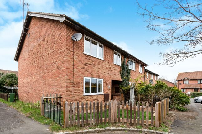 Thumbnail End terrace house to rent in Thumwood, Chineham