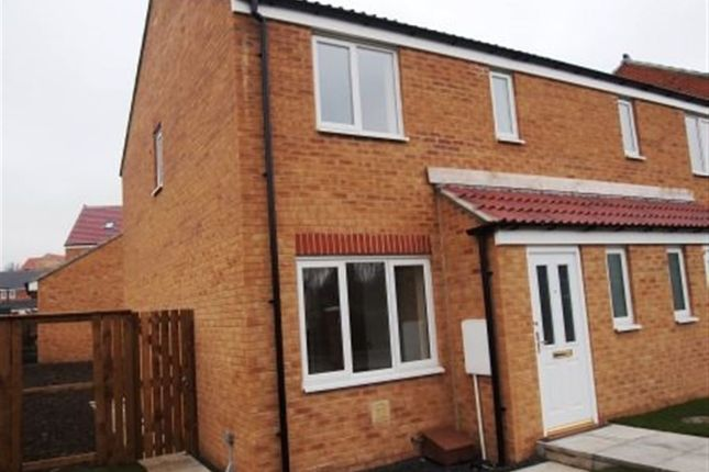 Thumbnail Semi-detached house to rent in St. Catherines Way, Bishop Auckland