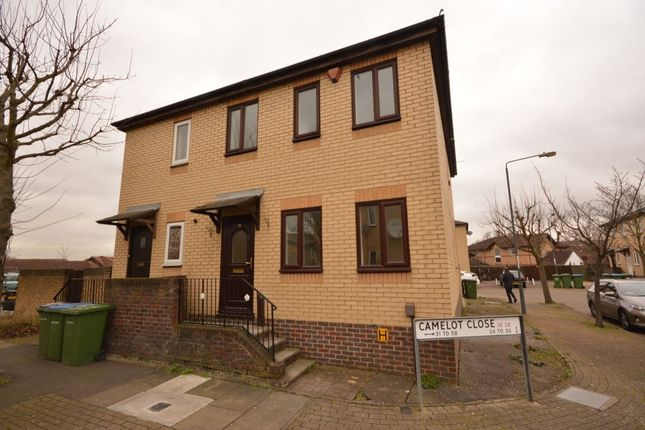 Thumbnail Semi-detached house to rent in Camelot Close, London