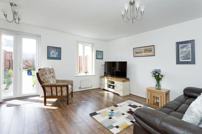 Thumbnail Terraced house for sale in 8 Wester Kippielaw Park, Dalkeith, Midlothian