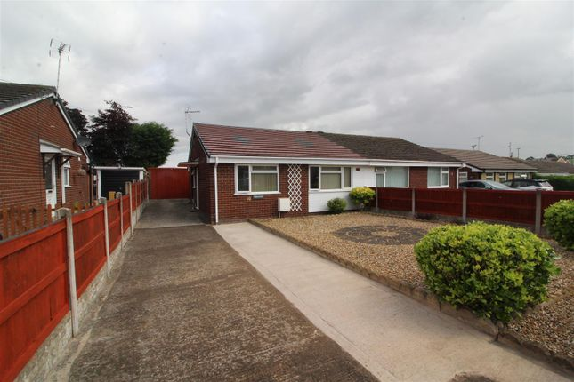 Thumbnail Semi-detached bungalow to rent in Offa, Lodgevale Park, Chirk