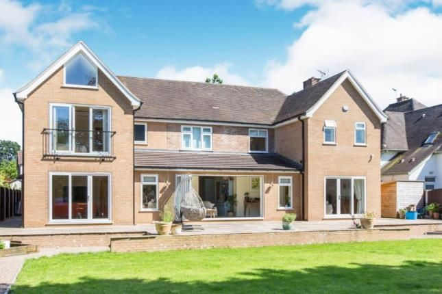 Thumbnail Detached house for sale in Sandbach Road North, Alsager, Stoke-On-Trent, Cheshire