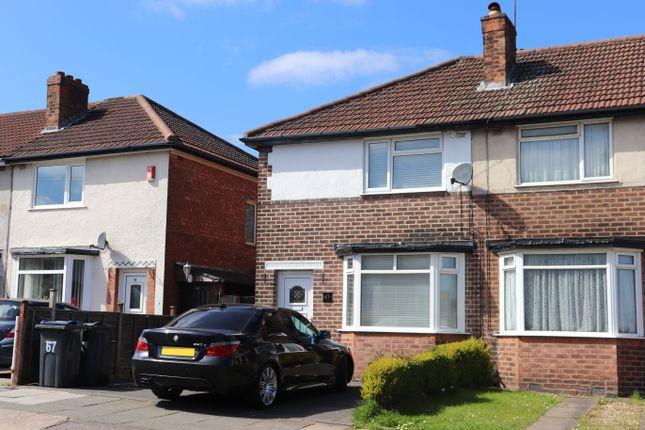 Thumbnail Semi-detached house to rent in Thurlestone Road, Longbridge, Northfield, Birmingham