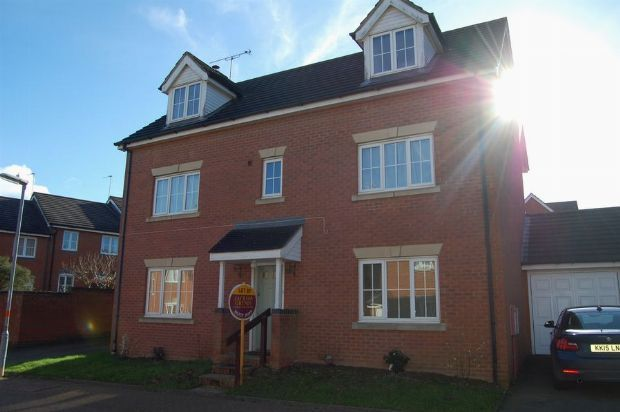 Thumbnail Detached house to rent in Plough Close, Lang Farm, Northants