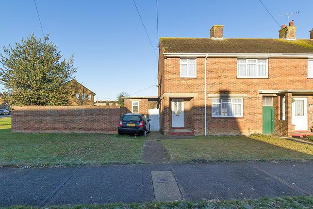 3 bed end terrace house to rent in Chaucer Road, Sittingbourne ME10