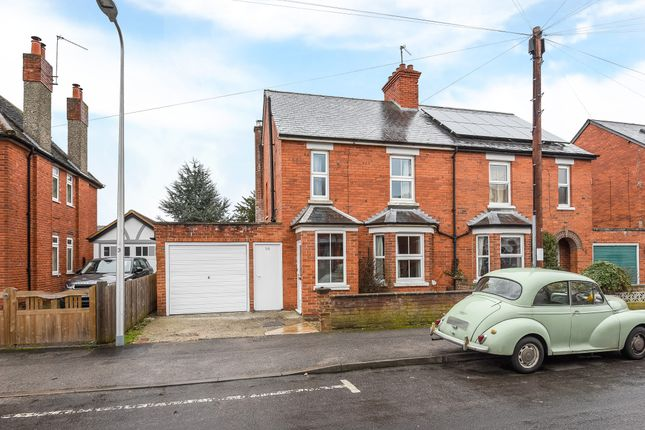 Thumbnail Semi-detached house to rent in Salcombe Road, Newbury