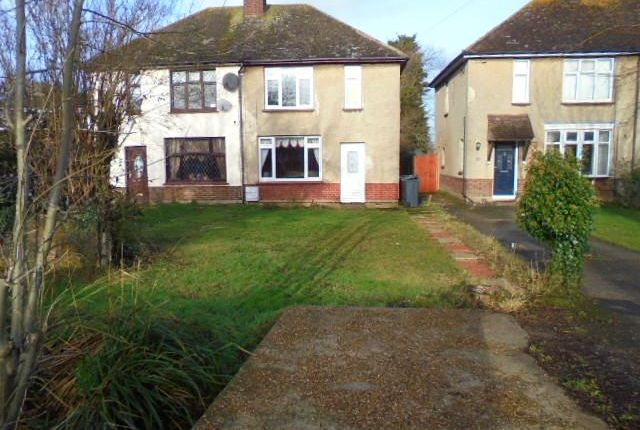 Thumbnail Semi-detached house to rent in Wood Lane, Cotton End, Bedford
