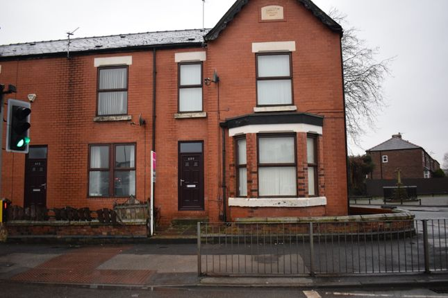 Thumbnail Terraced house to rent in Liverpool Road, Wigan