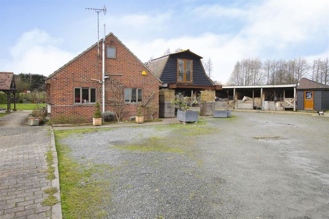 Thumbnail Detached bungalow for sale in Days Lane, Pilgrims Hatch, Brentwood