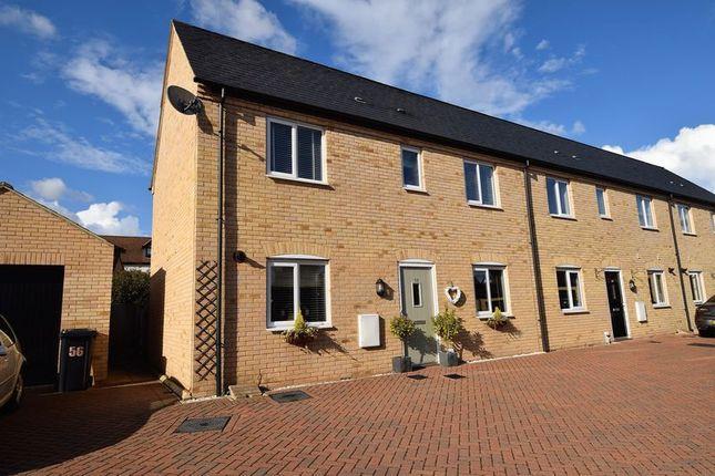 Thumbnail Terraced house for sale in Mander Farm Road, Silsoe, Bedford