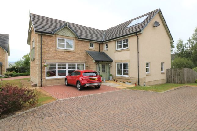 Thumbnail Detached house for sale in Sheriffmuir Close, Greenloaning Dunblane
