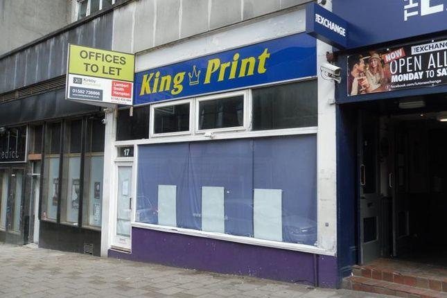 Thumbnail Retail premises to let in 17 King Street, Luton, Bedfordshire