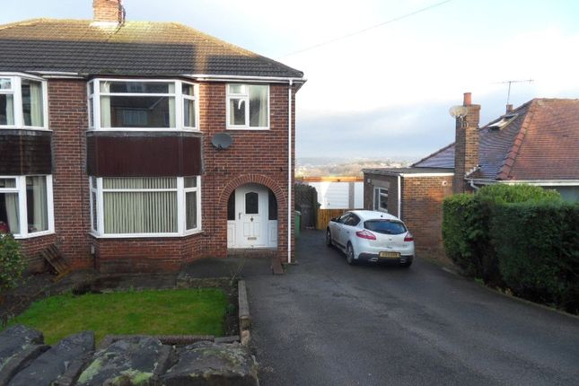 Thumbnail Semi-detached house to rent in Overthorpe Road, Dewsbury, West Yorkshire