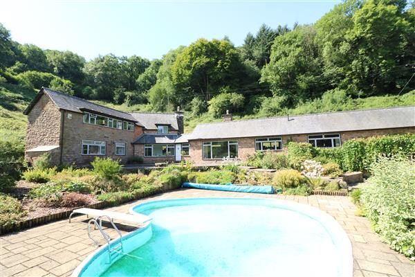 Thumbnail Farmhouse for sale in Coughton, Craig Farm, Coughton, Ross-On-Wye