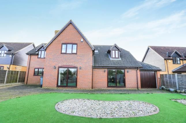 Thumbnail Detached house for sale in Whiteman Close, Langford, Biggleswade, Bedfordshire