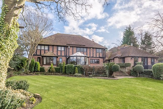 Thumbnail Detached house for sale in Rocklyn Lodge, 124 Runnymede Road, Darras Hall, Ponteland, Newcastle Upon Tyne