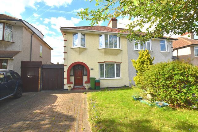 Thumbnail Semi-detached house for sale in Hythe Avenue, Bexleyheath, Kent