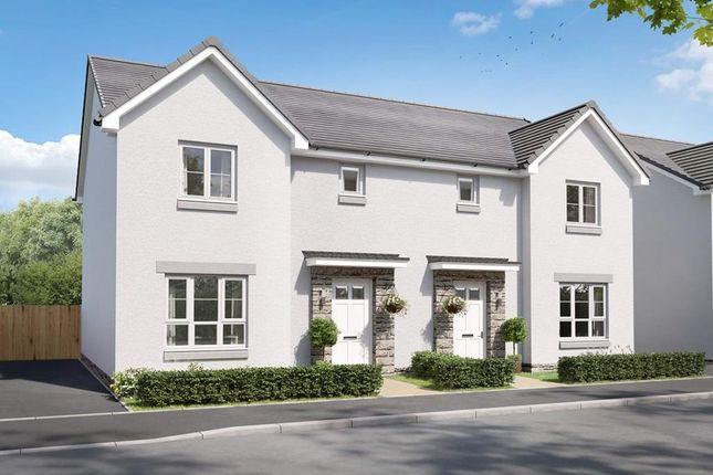 """3 bed semi-detached house for sale in """"Craigend"""" at Charolais Lane, Huntingtower, Perth PH1"""