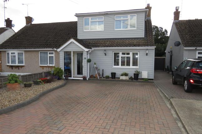 Thumbnail Semi-detached bungalow for sale in Greenleas, Benfleet