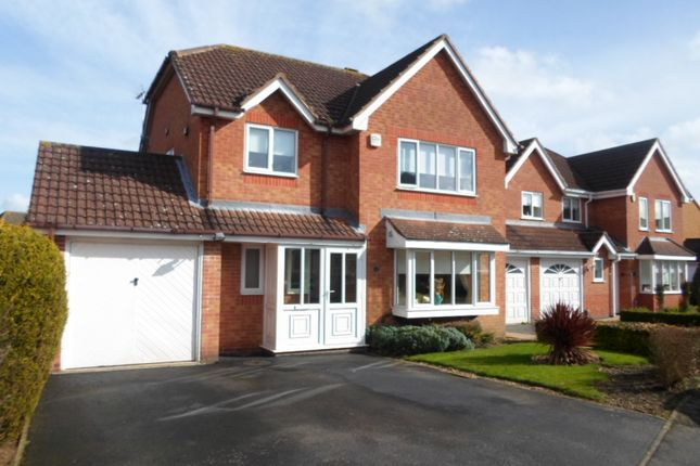 Thumbnail Detached house for sale in Mount Pleasant, Oadby
