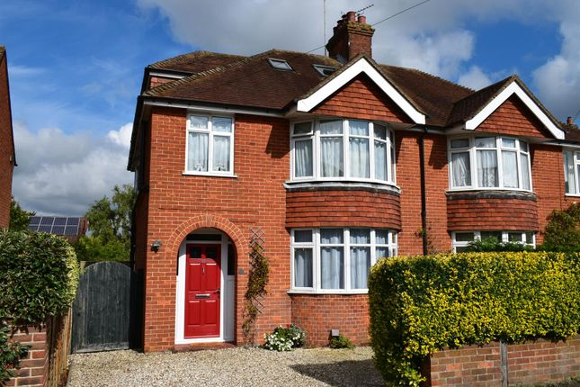 4 bed semi-detached house for sale in Chandos Road, Newbury