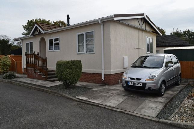 Thumbnail Detached house for sale in Willow Brook Park, Station Road, Deeside