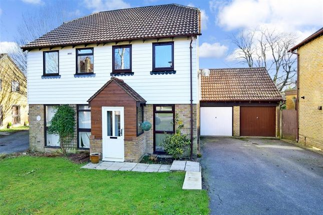 Thumbnail Semi-detached house for sale in Bridger Way, Crowborough, East Sussex