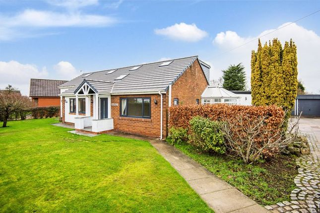 Thumbnail Detached bungalow for sale in Ridley Lane, Mawdesley, Ormskirk