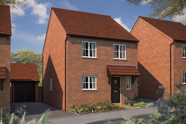 "Thumbnail Semi-detached house for sale in ""The Salisbury"" at Irthlingborough Road, Wellingborough"