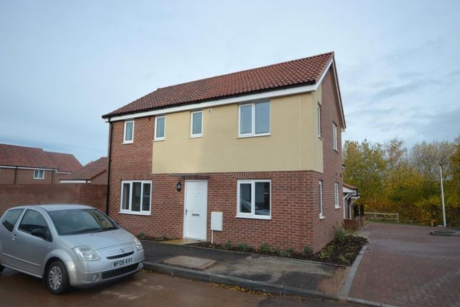 Thumbnail Detached house to rent in Myrtlebury Way, Exeter, Devon
