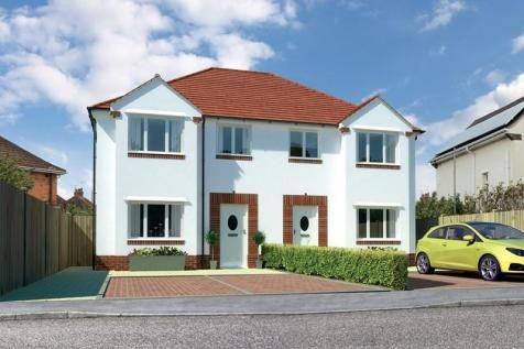 Thumbnail Semi-detached house for sale in Hamworthy, Poole, Dorset
